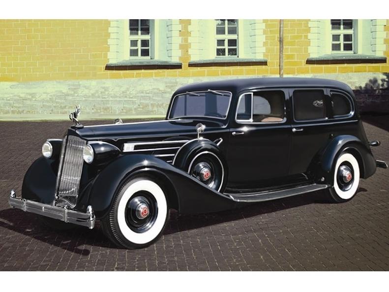 1 35 Советский персональный автомобиль Packard Twelve (mod 1936)