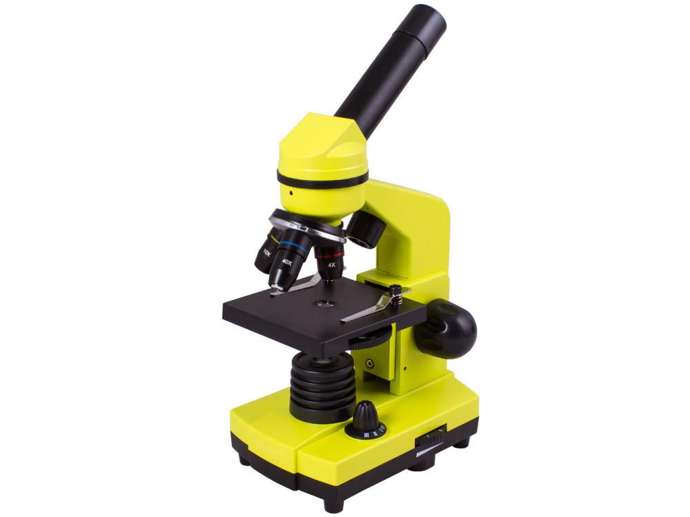 microscope-levenhuk-rainbow-2l-lime