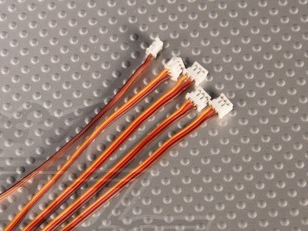 Провод для серво Mini JST 5шт.