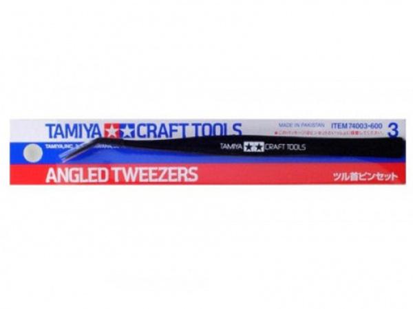 Инстумент для моделирования. Angled tweezers (Пинцет угловой).