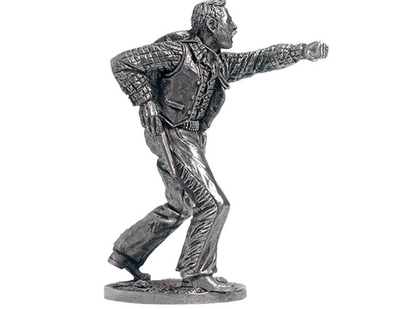 Фигура оловянная Дерущийся ковбой WW-23