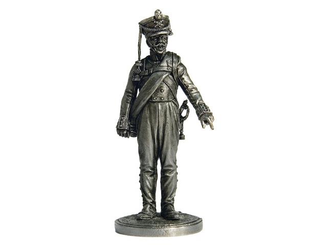 Фигура оловянная Фейерверкер армейской пешей артиллерии. Россия, 1809-14 гг NAP46