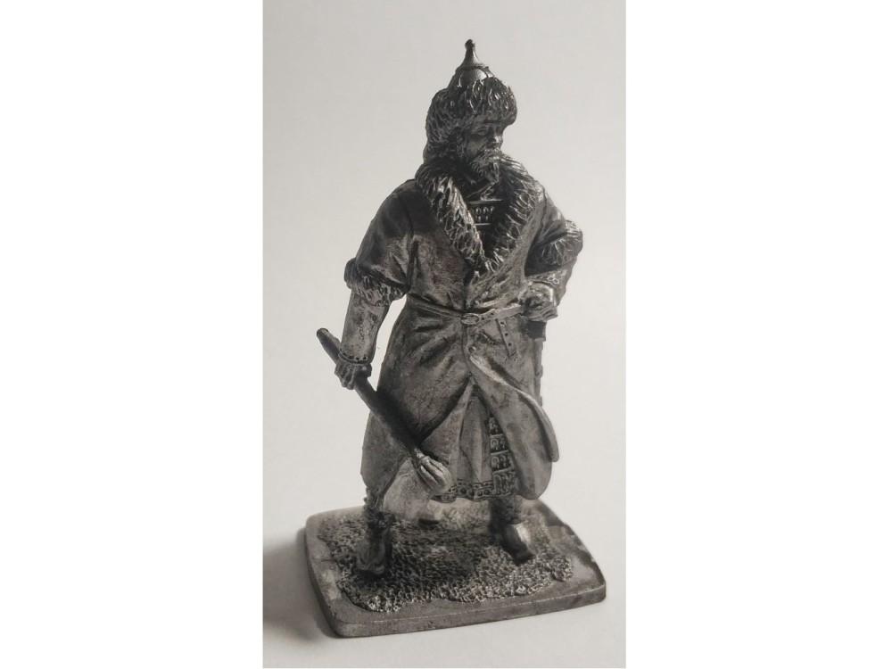 Фигура оловянная Монгольский знатный, 13 век Horde03