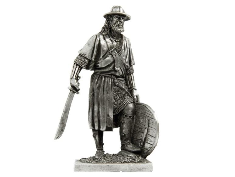 Фигура оловянная Немецкий пехотинец, середина 14в M15