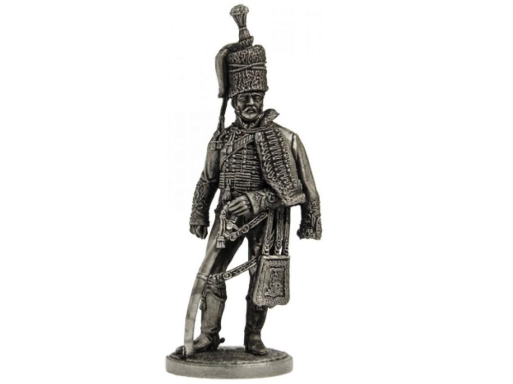 Фигура оловянная Офицер 15-го лёгкого гус. полка Короля. Великобритания, 1808-13 гг. NAP16