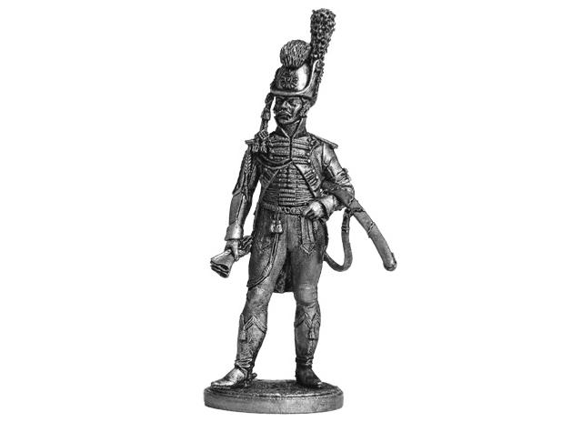 Фигура оловянная Офицер Конной Лейб-гвардии. Швеция, 1807 г. NAP36