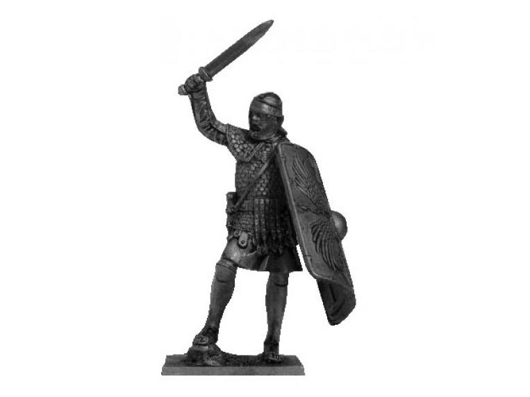 Фигура оловянная Римский легионер, 105 г. н.э. 54-5