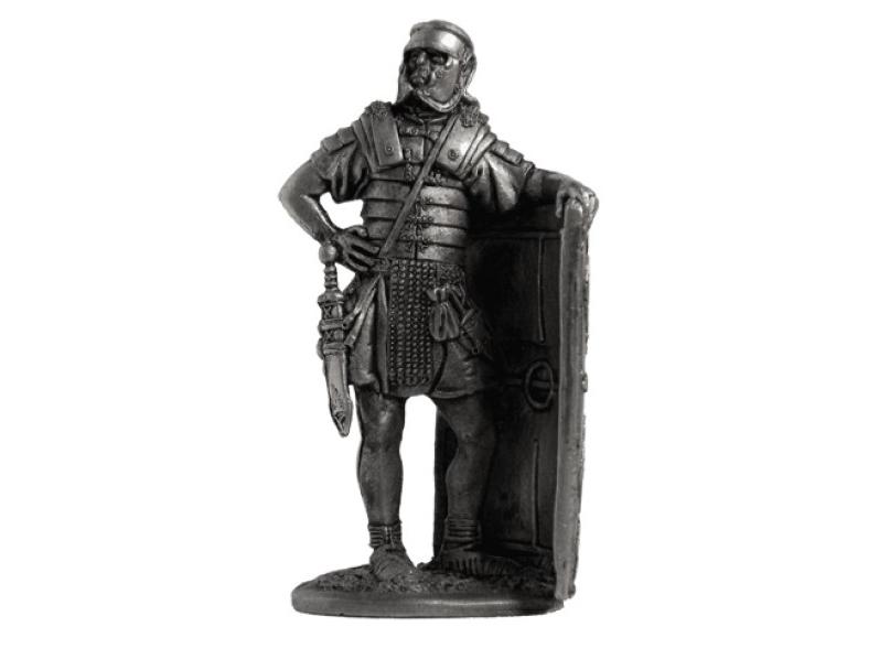 Фигура оловянная Римский легионер, 2-ой легион Августа 1в н.э. A4