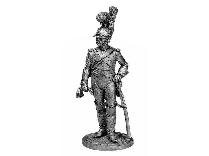 Фигура оловянная Ряд. 1-й роты (Милан) Почетной королевской гвардии. Италия, 1811-12 гг. NAP32