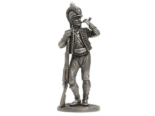 Фигура оловянная Рядовой Каталонского батальона лёгкой пехоты. Испания, 1807-08 гг. NAP59