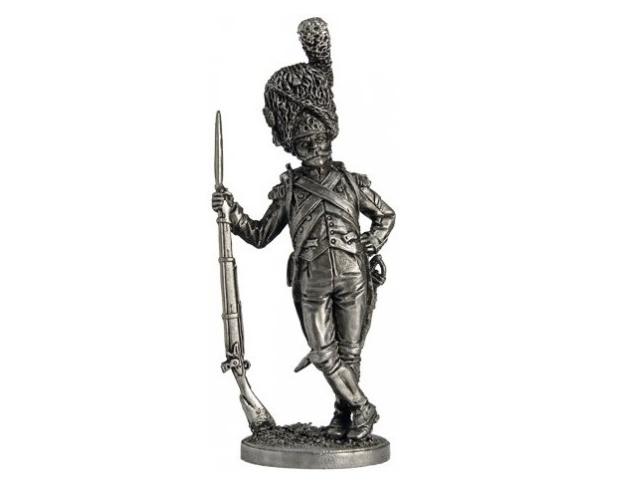 Фигура оловянная Рядовой полка Конных егерей Имп. гвардии. Франция, 1804-15 гг. NAP84
