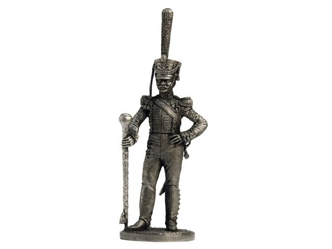 Фигура оловянная Тамбурмажор Лейб-гвардии Измайловского полка. Россия, 1814-15 гг. NAP20