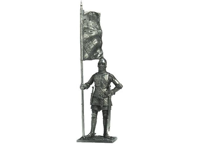 Фигура оловянная Бургундский рыцарь Жан де Монтагю, серед 14 век. M145