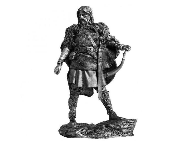 Фигура оловянная Макроманский воин, 2 век н.э. 75-5