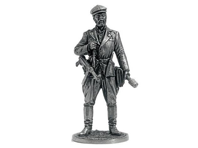 Фигура оловянная Партизан, 1941-44 гг. СССР WWII-38