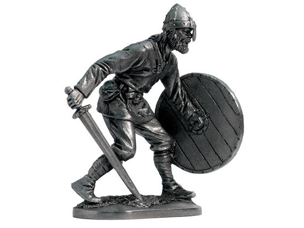 Фигура оловянная Викинг, 9-10 вв. M285